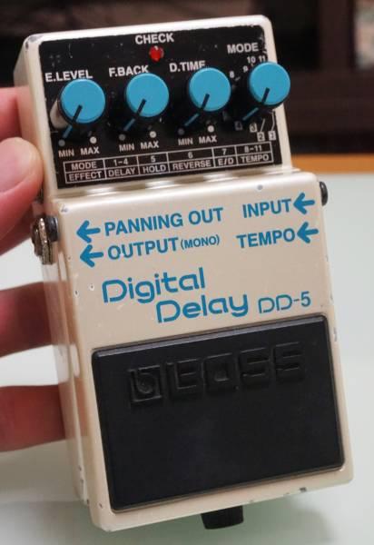 ☆送料無料♪ BOSS DD-5 Digital Delay メンテナンス済み デジタルディレイ☆