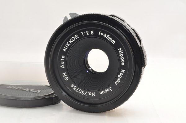 ★新品級美観★NIKON GN Auto NIKKOR 45mm F2.8 #4864