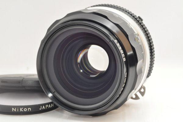 ★超極上美品★NIKON NIKKOR-O・C Auto 35mm F2 Ai改 フィルター付き #4850