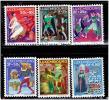 ルクセンブルク クリスマス付加金付切手セット (1965年 おとぎ話)
