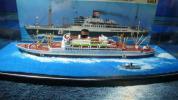 築山商船模型 貨物船 日本郵船 新田丸