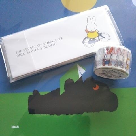 ミッフィー★一筆箋&マスキングテープ★シンプルの正体 ディック・ブルーナのデザイン展 展覧会限定 miffy うさこちゃん マステ グッズの画像