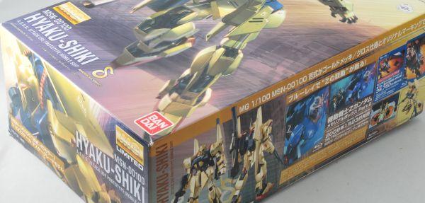 MG 1/100 MSN-00100 百式 HDカラー (機動戦士Zガンダム)  ★新品★_画像2