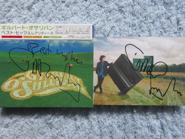 ☆ギルバートオサリバン 直筆サイン入りCD&ポストカード!