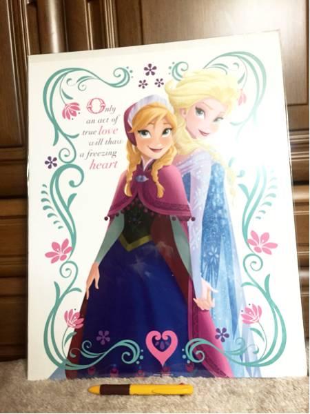 アナと雪の女王 ポスター ディズニーグッズの画像