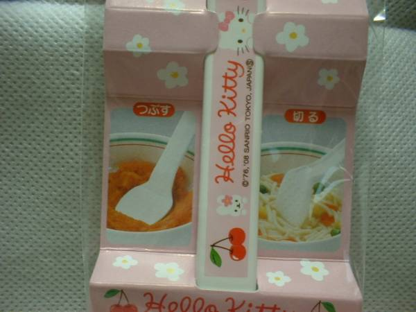 ★ キティ ベビーマッシャー 新品 即決 離乳食 煮沸消毒OK 日本製 ★_画像2