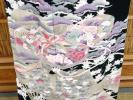 【京化粧】8963黒留袖 銀駒刺繍 紐柄刺繍 新古品○即決送