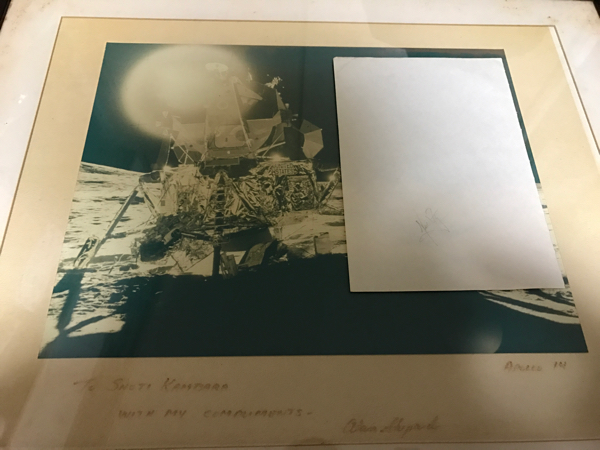 希少 ニール アームストロング船長 直筆サイン アポロ11号