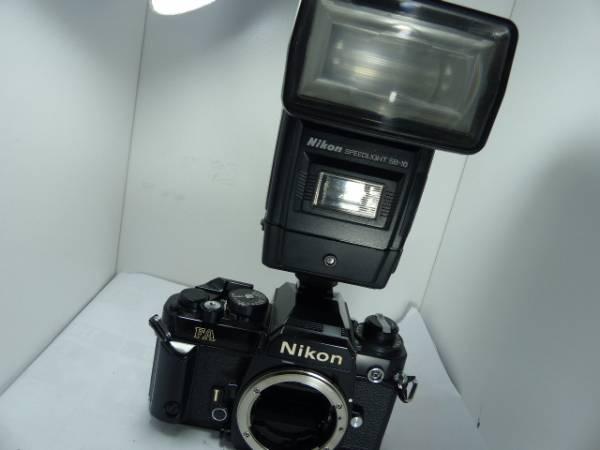 ニコン FA ブラック+SB-16ストロボ  ジャンク