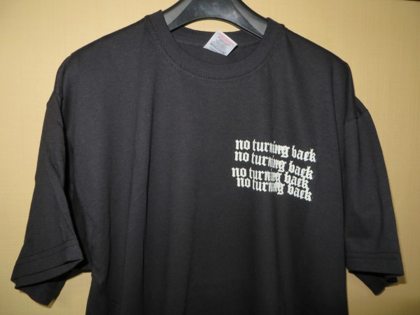 ★NO TURNING BACK Tシャツ NYHC SICK OF IT ALL MADBALL TERROR CRO-MAGS