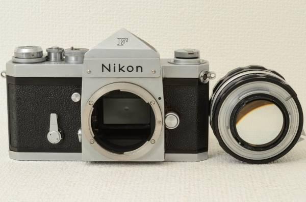 ニコン Nikon F ボディ + Nikkor-S 50mm f1.4 (333-K14)_画像3