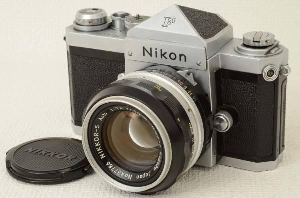 ニコン Nikon F ボディ + Nikkor-S 50mm f1.4 (333-K14)_画像2