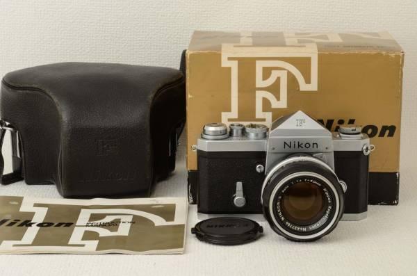 ニコン Nikon F ボディ + Nikkor-S 50mm f1.4 (333-K14)