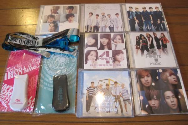 ☆★韓流 K-POP  SHINee  4MINUTE  CODE-V  CD ペンライト☆★