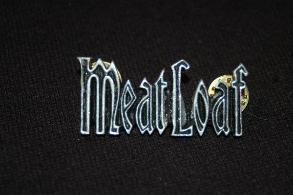 デッドストック 90年代 MEATLOAF ミートローフ ピンバッジ