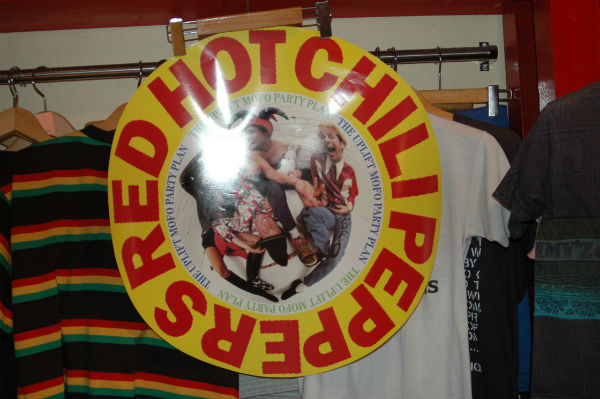1987 RED HOT CHILI PEPPERS THE UPLIFT MOFO PARTY PLAN ポスター