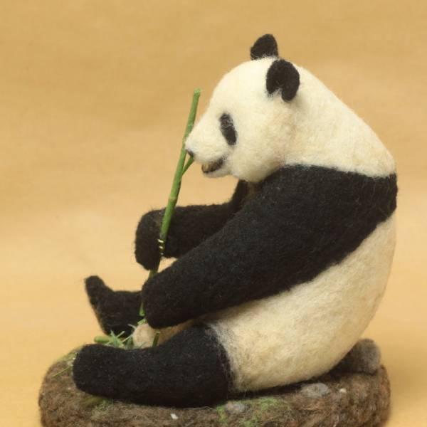 パンダ 羊毛フェルト ハンドメイド 0418_画像3