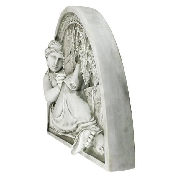 女性作家のレリーフ 壁掛け彫刻インテリア西洋彫刻置物雑貨飾り西洋建築風彫刻洋風装飾アクセントカメオ家具壁彫刻オブジェ壁飾り調度品_画像2