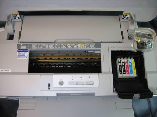 EPSON A3インクジェットプリンター PX-1004 4/16購入 1回使用の超美品!_画像3