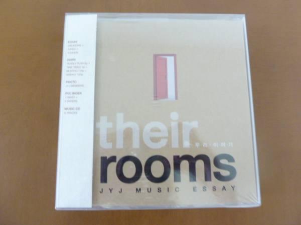 ☆JYJ  Γtheir rooms」 JYJ MUSIC ESSEY 新品 ライブグッズの画像