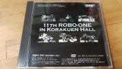 ♪【11TH ROBO-ONE in 後楽園ホール】DVD♪二足歩行ロボット 格闘競技大会