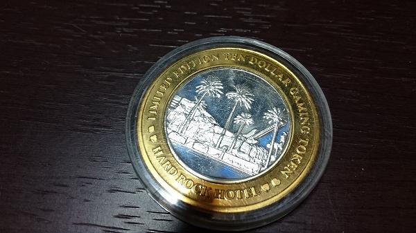 ☆ ハードロックホテル スーベニアコイン(トークン) 貴重 ハードロックカフェ HRC