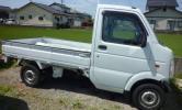 スズキ  キヤリー 平成21年6月登録  4WD 事故車