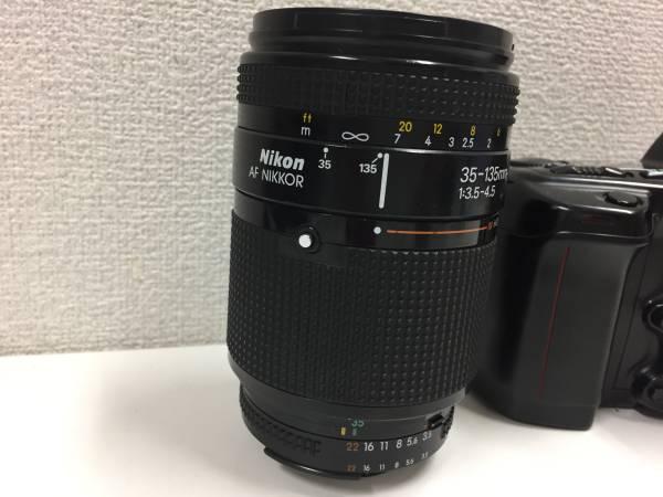 ▲Nikon ニコン AF NIKKOR 35-135mm 1:3.5-4.5 / F90X付