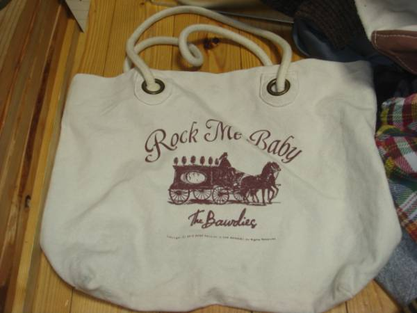 ザ ボゥディーズTHE BAWDIES2012ROCK ME BABY帆布キャンバス トートバッグBAGボーディーズ鞄かばんTOURツアー