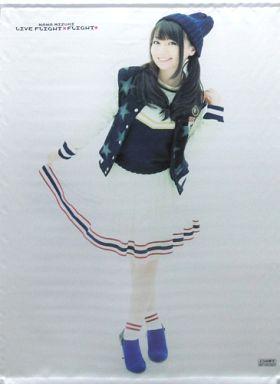 新品 未開封 水樹奈々 B2タペストリー 「Blu-ray/DVD NANA MIZUKI LIVE FLIGHT×FLIGHT+」 とらのあな購入特典 声優 なのは バジリスク