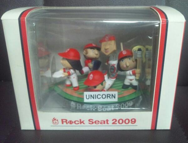 UNICORN Rock Seat 2009 マツダスタジアム広島/ユニコーン☆CARP