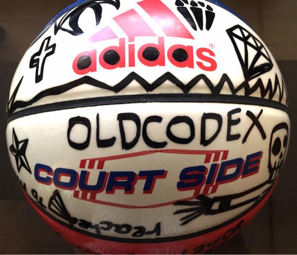 【非売品】OLDCODEX YORKE.直筆バスケットボール