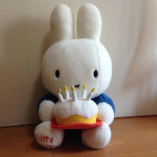 ミッフィー miffy 50th ぬいぐるみ グッズの画像