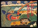 石のししのものがたり チベット民話 大塚勇三/再話 秋野亥左牟/絵 福音館書店