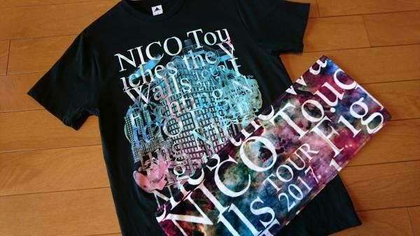 ★NICO Touches the Walls ★ツアーTシャツ タオル セット ライブグッズの画像