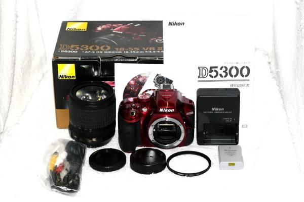 【元箱・取説付】Nikon ニコン D5300 AF-S 18-105mm 手振れ VR 純正レンズ