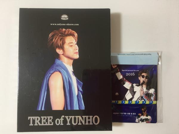 値下げ!【選べるおまけ】東方神起 ユノ TREE OF YUNHO ファンサイト ミニカレンダー付き セギソン ユンホ ペンカフェ onlyone yoonho