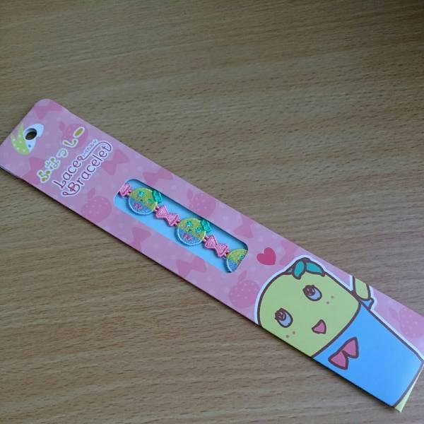 送料込み☆ふなっしーブレスレット☆ピンク グッズの画像