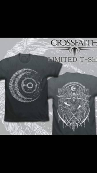 限定 crossfaith クロスフェイス tシャツ ピック L