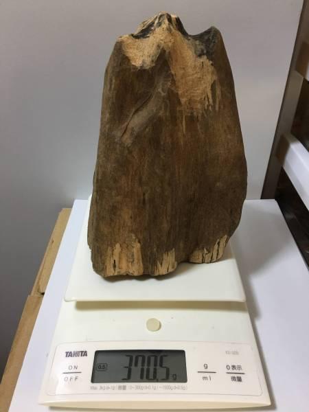 姿物沈香木 370.5g (香木 沈香 伽羅)