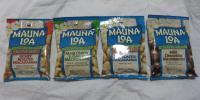 即決!MAUNA LOA マウナロア マカダミアナッツ 4種 4個 塩・ガーリック・キャラメル・ミルクチョコ