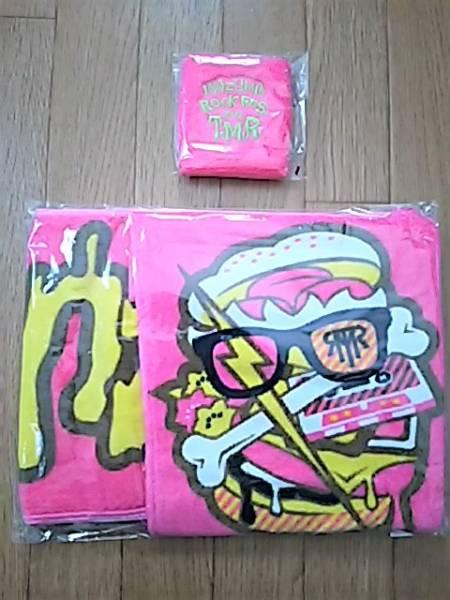 イナズマロックフェス2012 Melt Logo フード付き マフラータオル、リストバンドのセット(PINK)