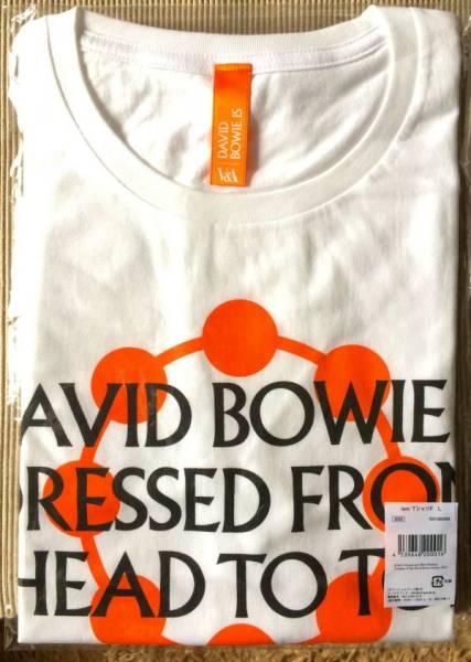 ★入手不可 DAVID BOWIE IS 大回顧展 日本会場限定 2週間限定販売★ デヴィッド ボウイ 『 ISM Tシャツ F シリーズ第6弾』 サイズ:L