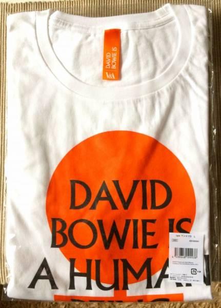 ★入手不可 DAVID BOWIE IS 大回顧展 日本会場限定 2週間限定販売★ デヴィッド ボウイ 『 ISM Tシャツ D シリーズ第4弾』 サイズ:L