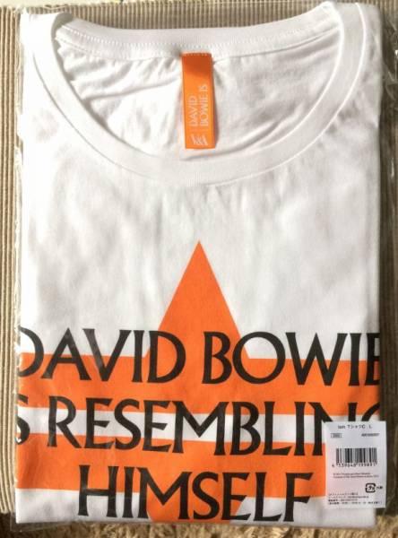 ★入手不可 DAVID BOWIE IS 大回顧展 日本会場限定 2週間限定販売★ デヴィッド ボウイ 『 ISM Tシャツ C シリーズ第3弾』 サイズ:L