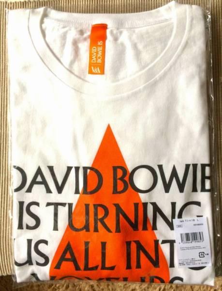 ★入手不可 DAVID BOWIE IS 大回顧展 日本会場限定 2週間限定販売★ デヴィッド ボウイ 『 ISM Tシャツ B シリーズ第2弾』 サイズ:L