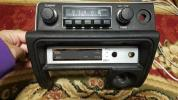 [美品] ハコスカ ラジオ 動作確認済み センター パネル 箱スカ スカイラインGC10 旧車 ケンメリ