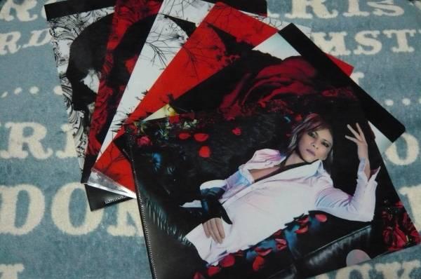 未使用◆XJAPANくじ クリアファイル全6枚セットYOSHIKI薔薇スカルロゴ ◆ ライブグッズの画像