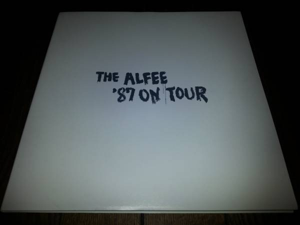 THE ALFEE パンフレット '87 ON TOUR