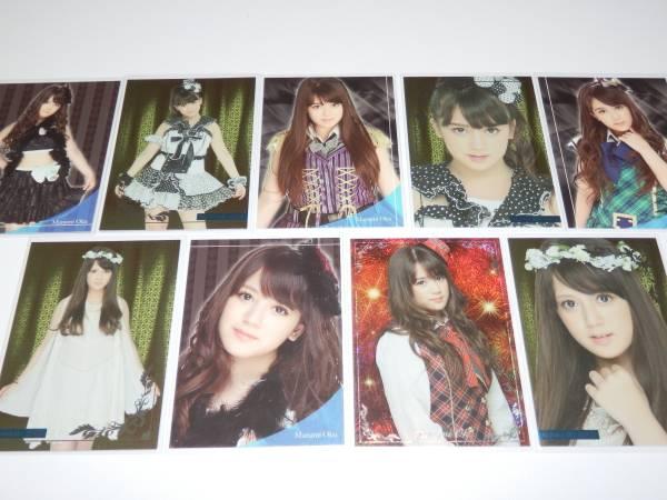 AKB48 トレカvol.2 『 奥真奈美 9枚コンプ 』 ライブ・総選挙グッズの画像